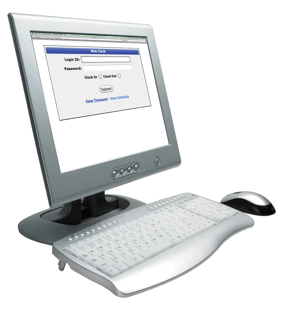 WebClock on Desktop